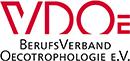 Logo Zertifikat Ernährungsberaterin VDOE Verband der Oecotrophologen e.V.